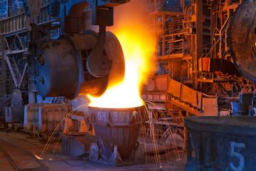 Maintenance des fours métallurgiques